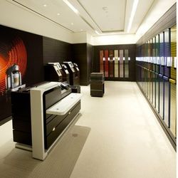 Self-selection room, for Nespresso club members only