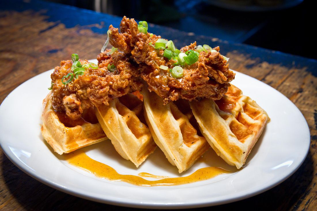 9 Places To Devour Chicken And Waffles In Detroit Eater