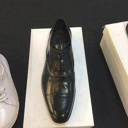 Men's leather shoes, $125 (originally $490)