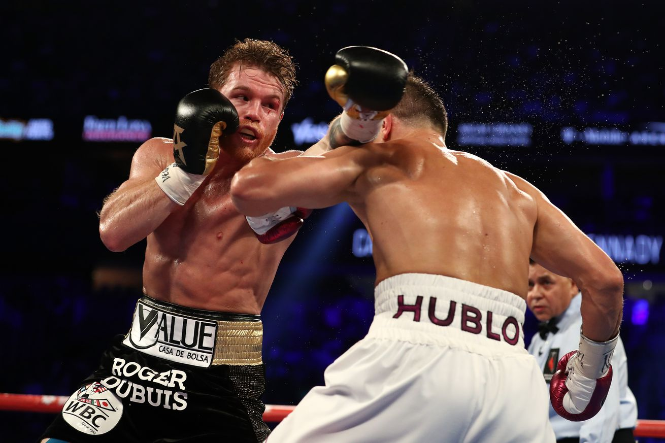 Canelo Alvarez defeated Gennady Golovkin in the main event Saturday night.