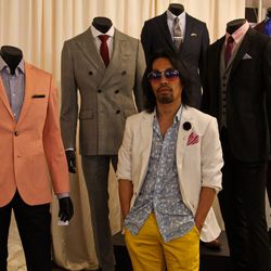 """At the end of the day, a suit is only as sharp as the way you feel in it. """"Your confidence level in what you're wearing will emulate the look that you have. If you put on a look and don't feel confident in it, change, because people will know. They'll loo"""