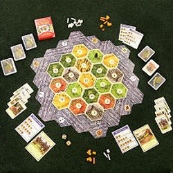 The board game Settlers of Catan is a popular game, as board games have made a comeback in popularity in Utah County and elsewhere.