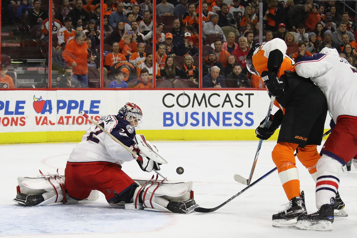 Flyers at Blue Jackets lineups, start time, TV, radio, live stream ...