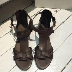 Veronique Branquinho sandals, size 38.5, $75 (from $355)