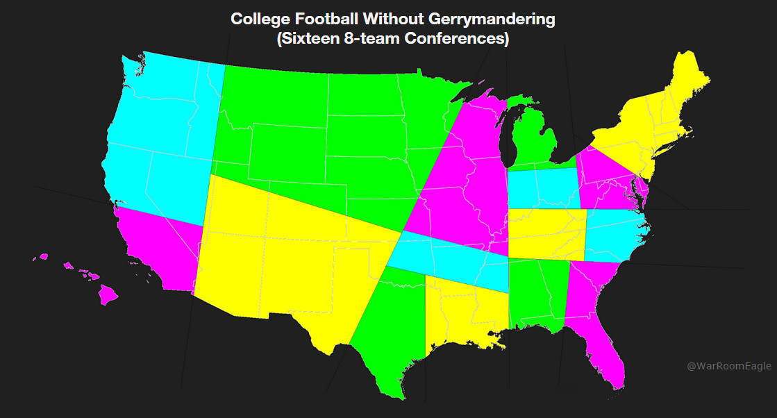 CFB without Gerrymandering