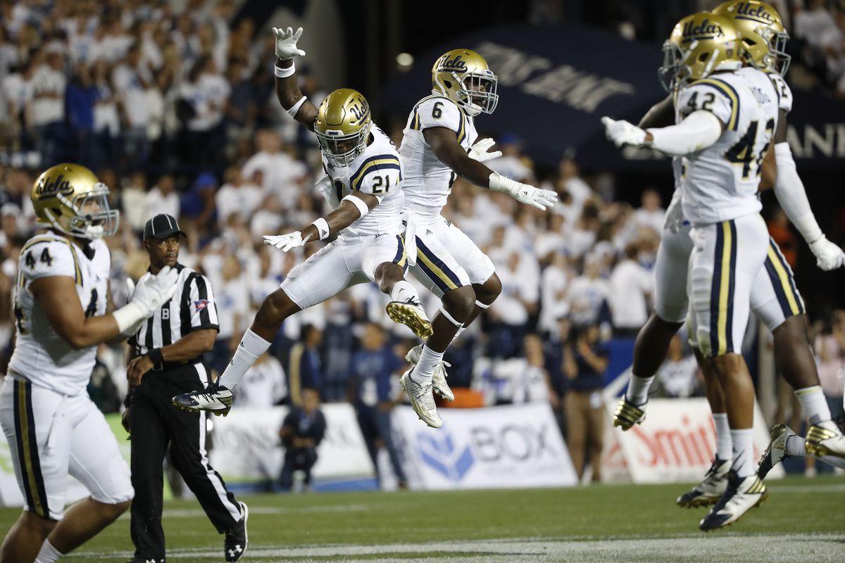 NCAA Football: UCLA at Brigham Young