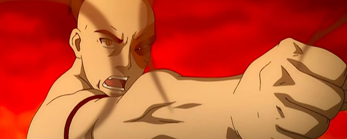 Zuko fights Zhao in Avatar the Last Airbender