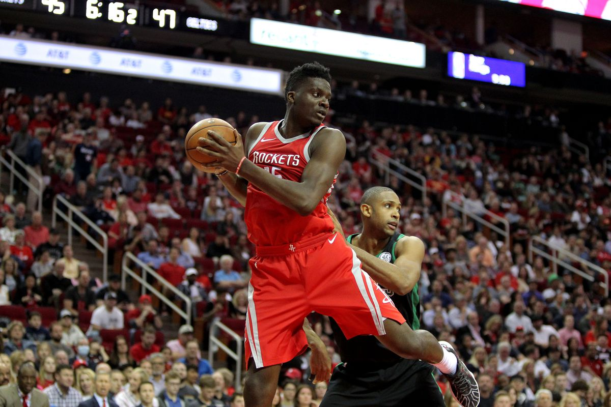Rockets likely targeting top-20 pick in potential Clint Capela deal with Celtics