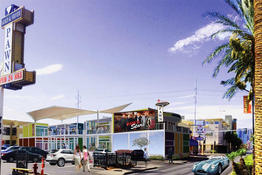 Pawn Plaza: Rendering Chesnick Scott Design