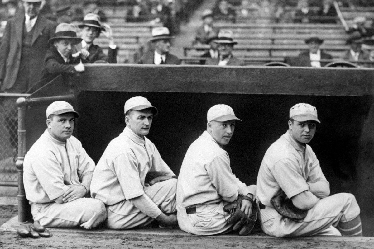 Philadelphia Athletics' third baseman Jimmy Dykes, shortstop