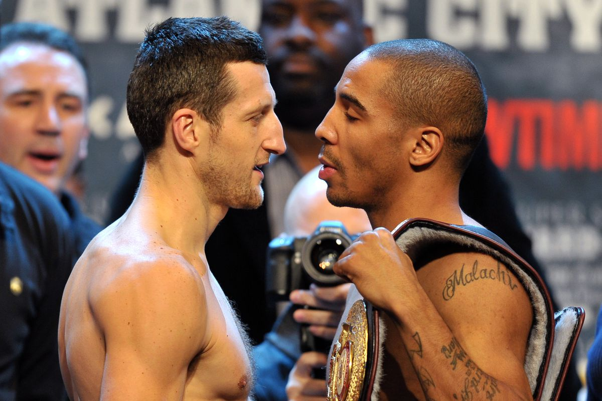 Andre Ward v Carl Froch - Weigh In