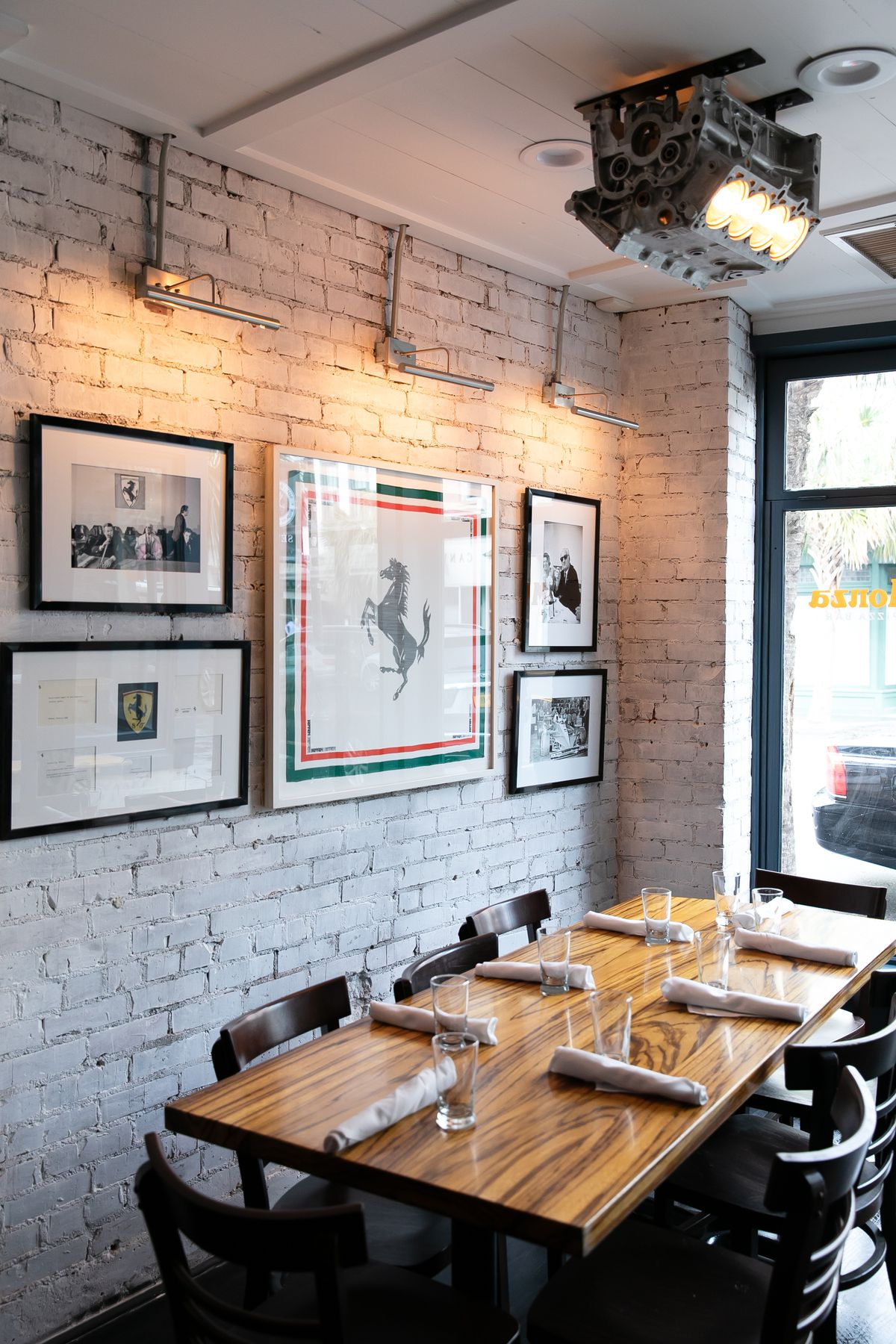 Monza Pizza Bar Shows Off Polished Updated Interiors on ...