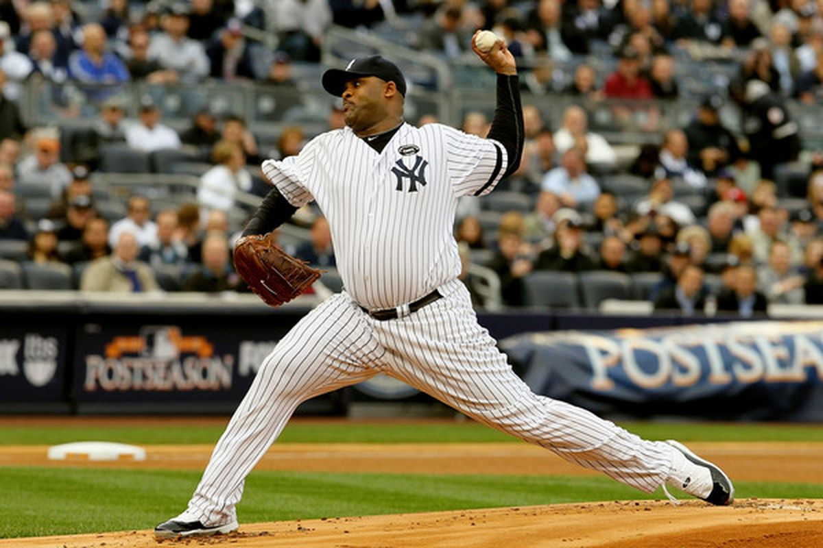<strong>CC Sabathia</strong>.  (Photo by Jim McIsaac/Getty Images)