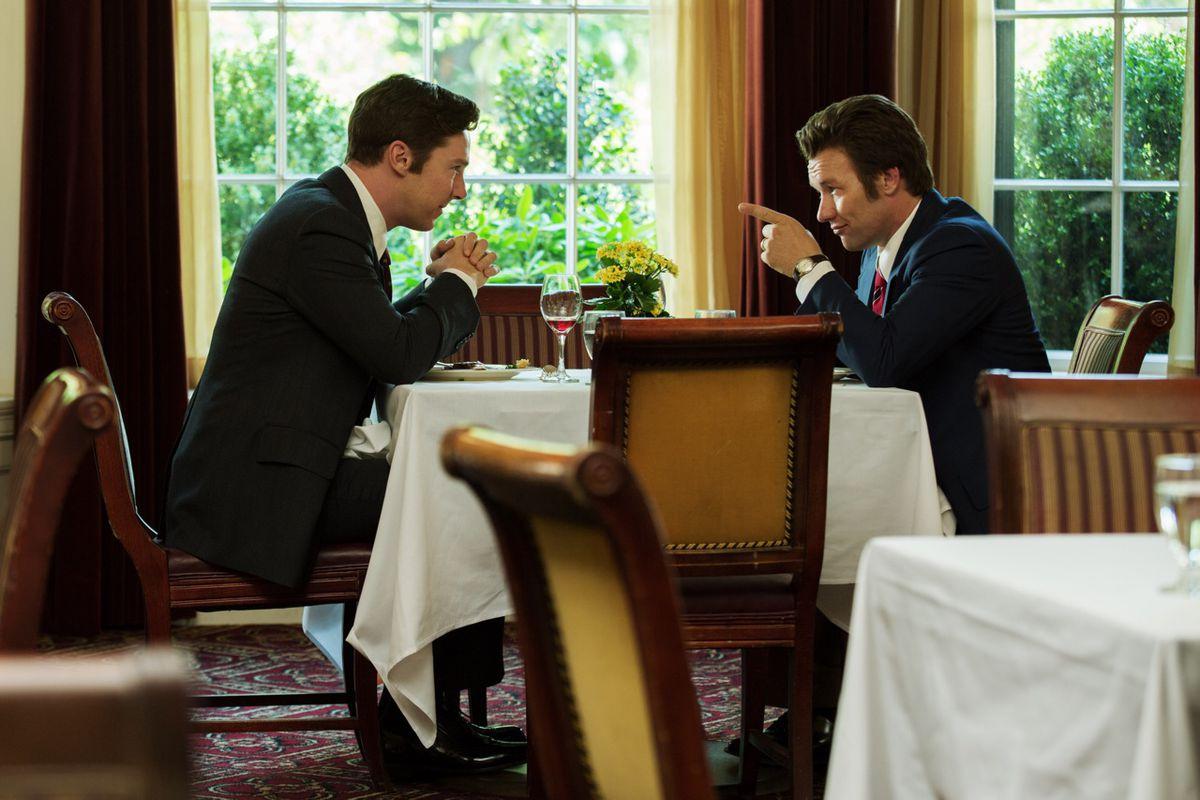 Benedict Cumberbatch and Joel Edgerton star in Black Mass.