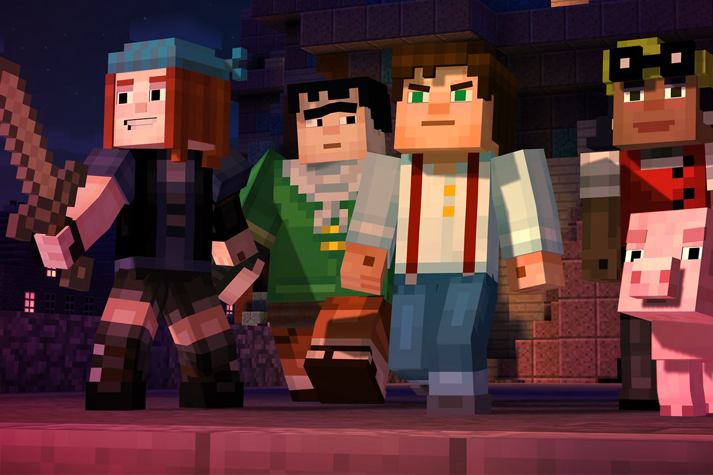 Minecraft Story Mode Review Polygon
