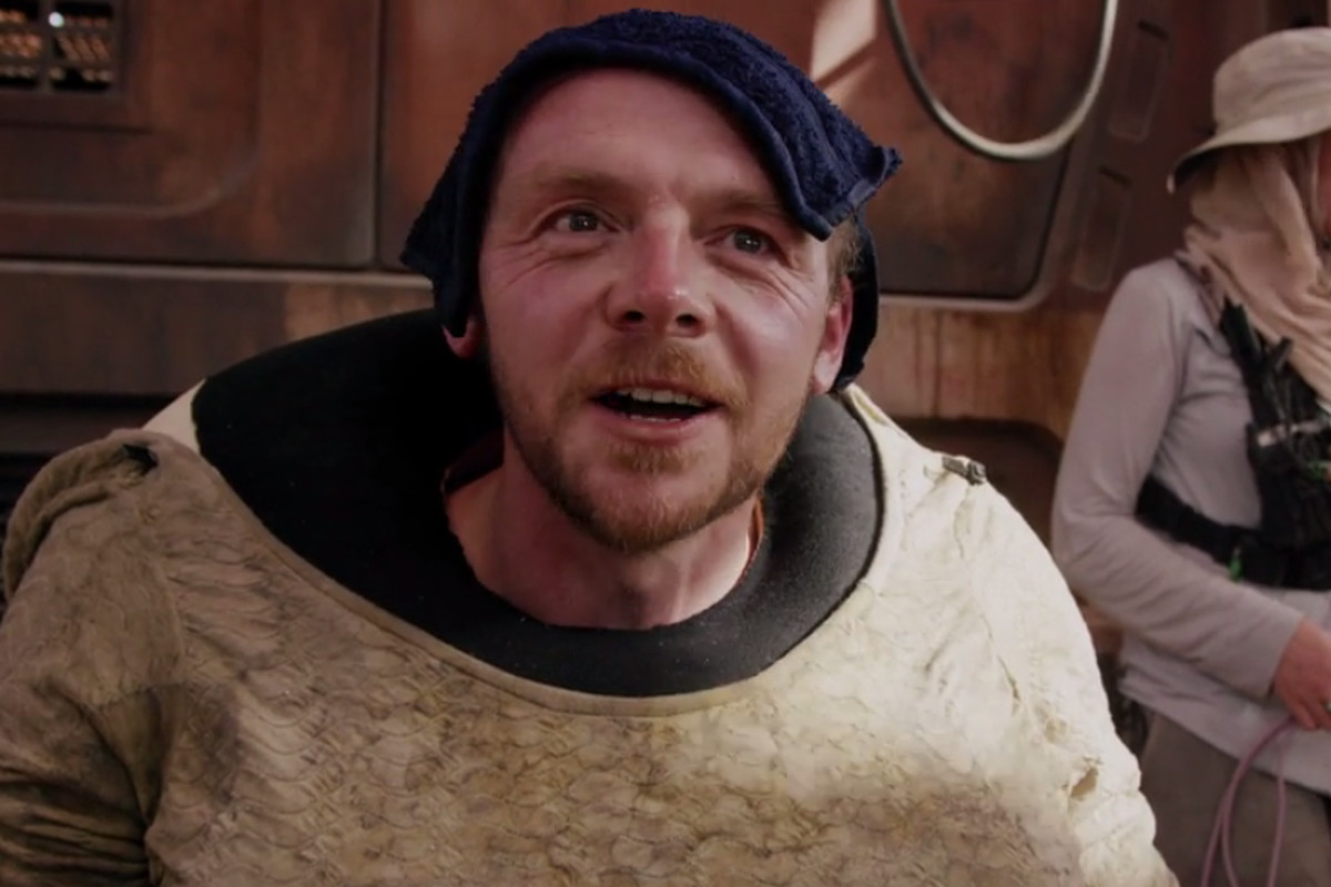 Simon Pegg will play an alien in Star Wars: The Force Awakens - The Verge