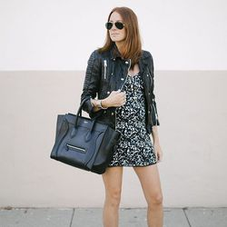 """Samantha of <a href=""""http://www.couldihavethat.com""""target=""""_blank"""">Could I Have That?</a> is wearing a <a href=""""http://us.aritzia.com/sexton-dress/51744.html?dwvar_51744_color=1295#q=sexton&start=1""""target=""""_blank"""">Aritzia Sexton</a> dress, an <a href=""""h"""