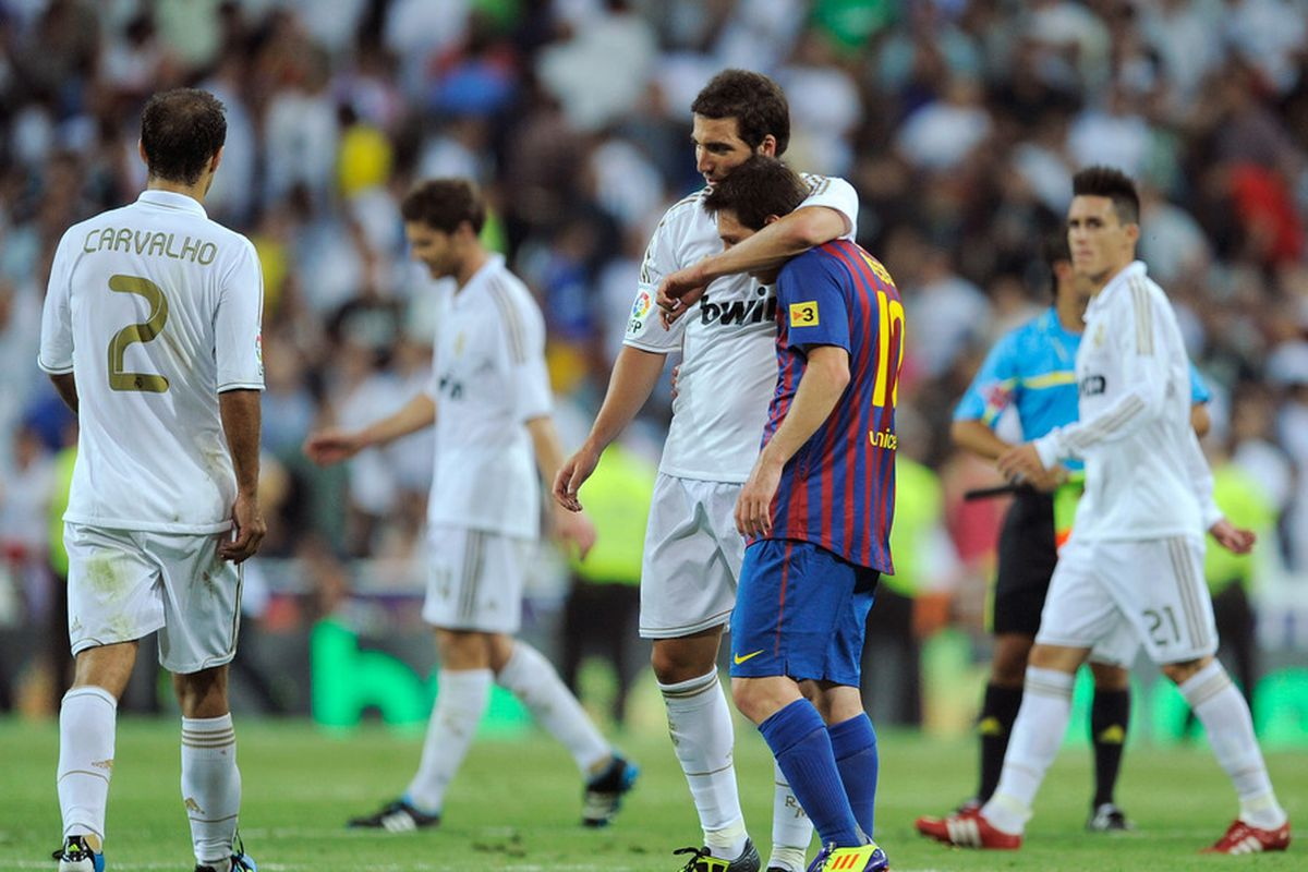 Let's be friends...after the game!