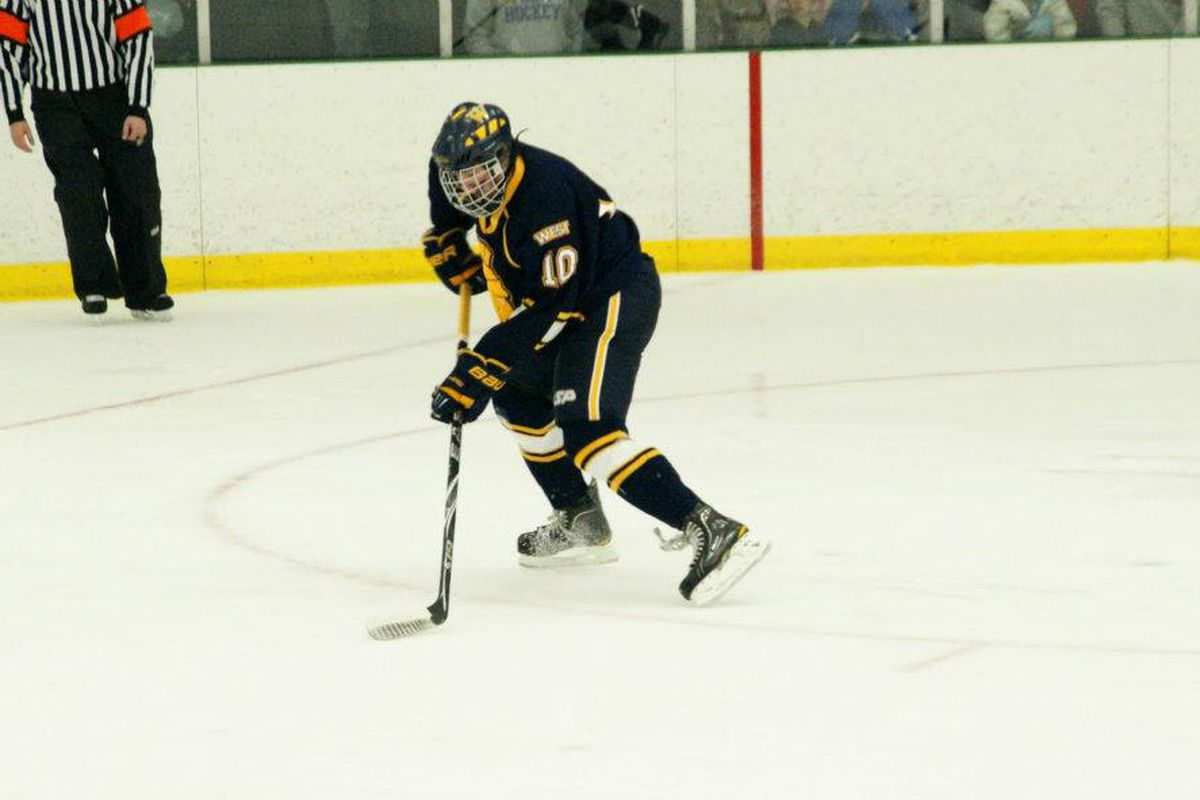 Wausau West forward Kevin Conley is one of 52 players invited to the NTDP Evaluation Camp