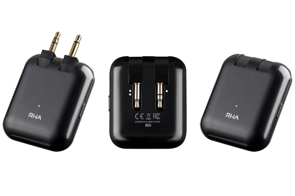 RHA's Wireless Flight Adapter makes any headphone jack wireless