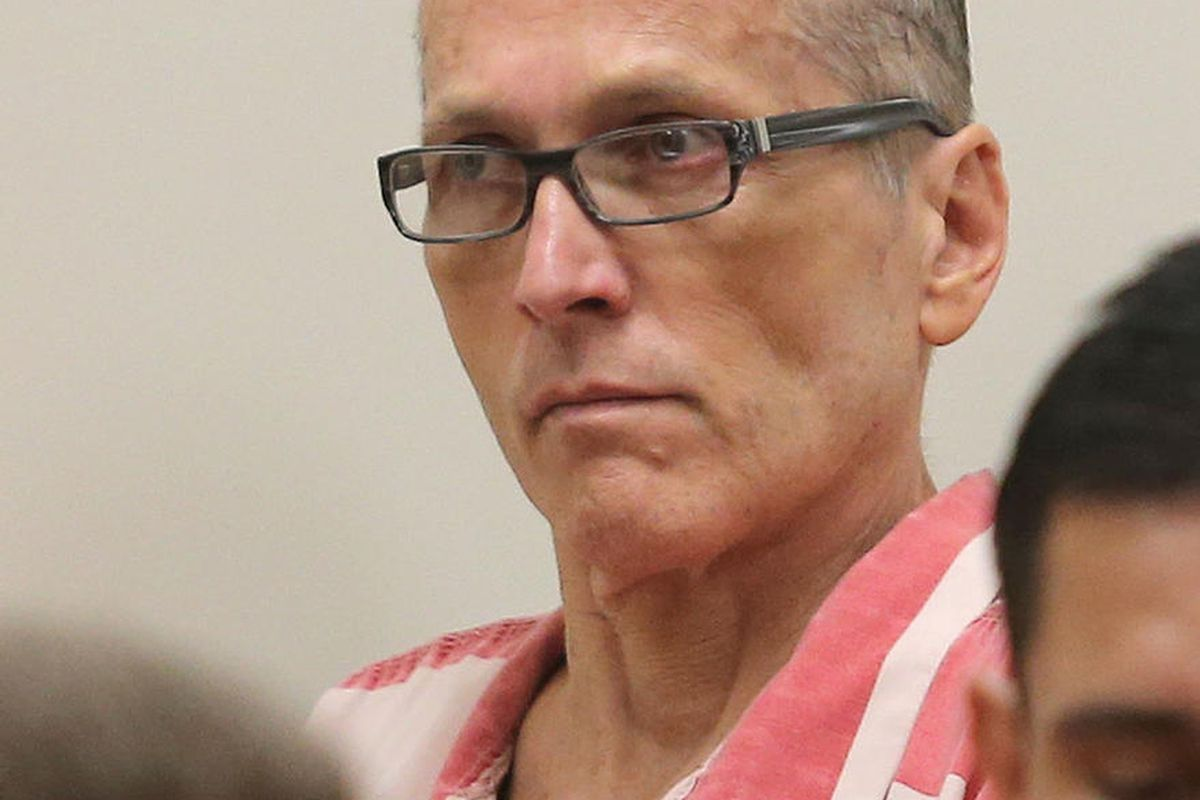 FILE - Martin Joseph MacNeill  listens as he is sentenced in a forcible sex abuse case by Judge Samuel D. McVey in Fourth District Court, MacNeill is also charged with killing his wife, Michelle MacNeill, in a separate case and is scheduled to be sentence