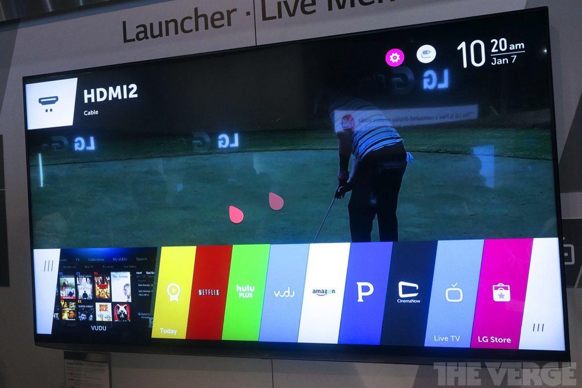 LG webos TV interface