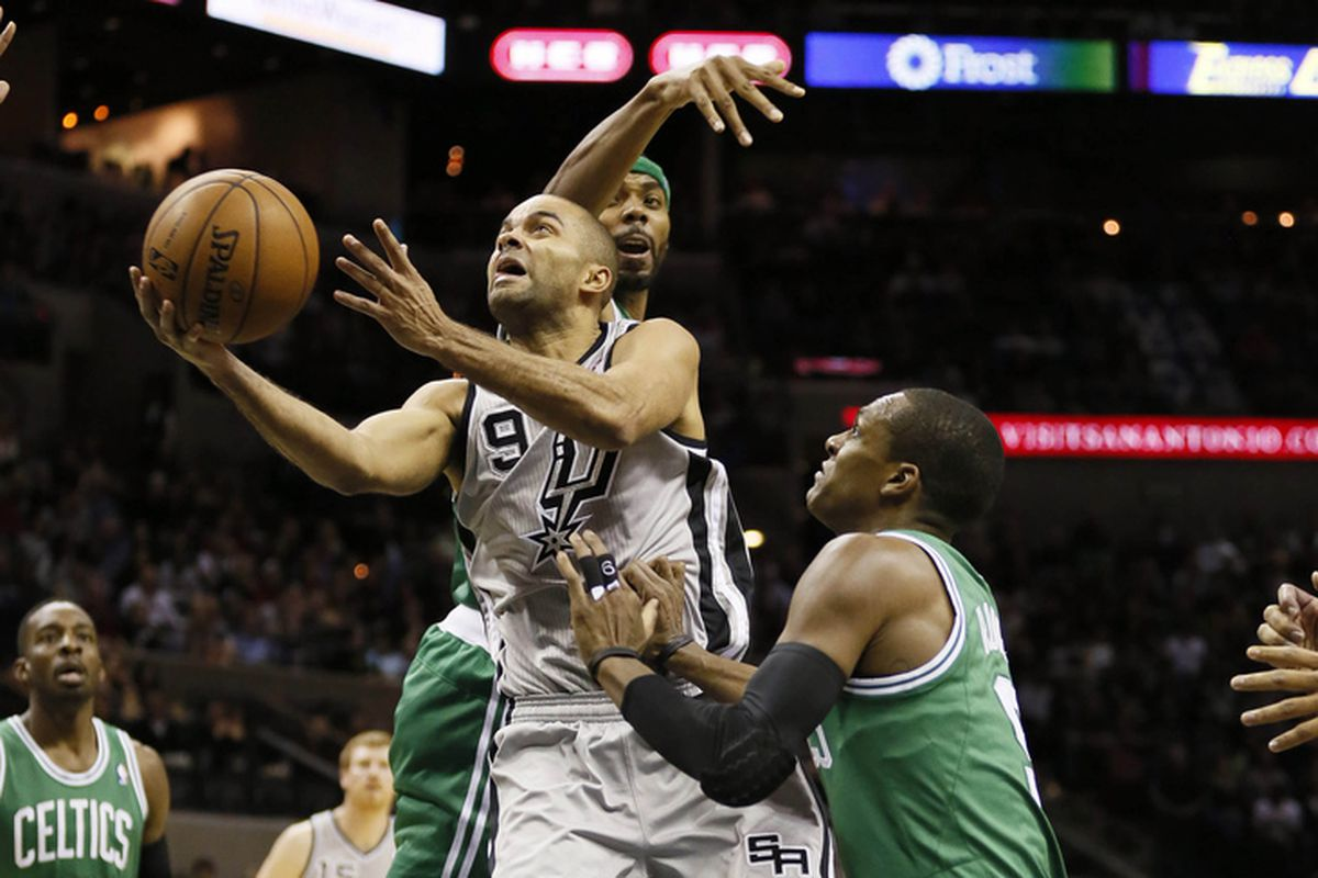 All night long, but especially in the fourth quarter, Boston just couldn't stop Tony Parker