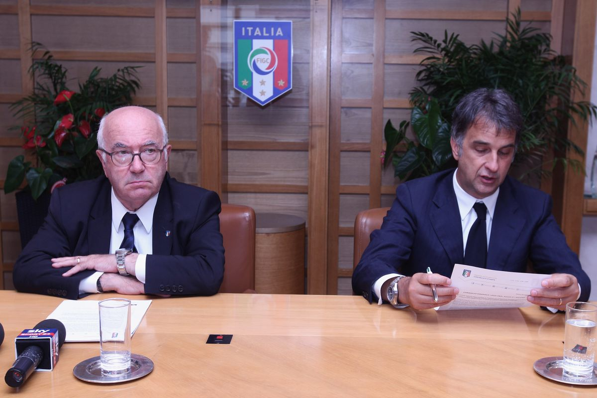 Italian Football Federation Press Conference
