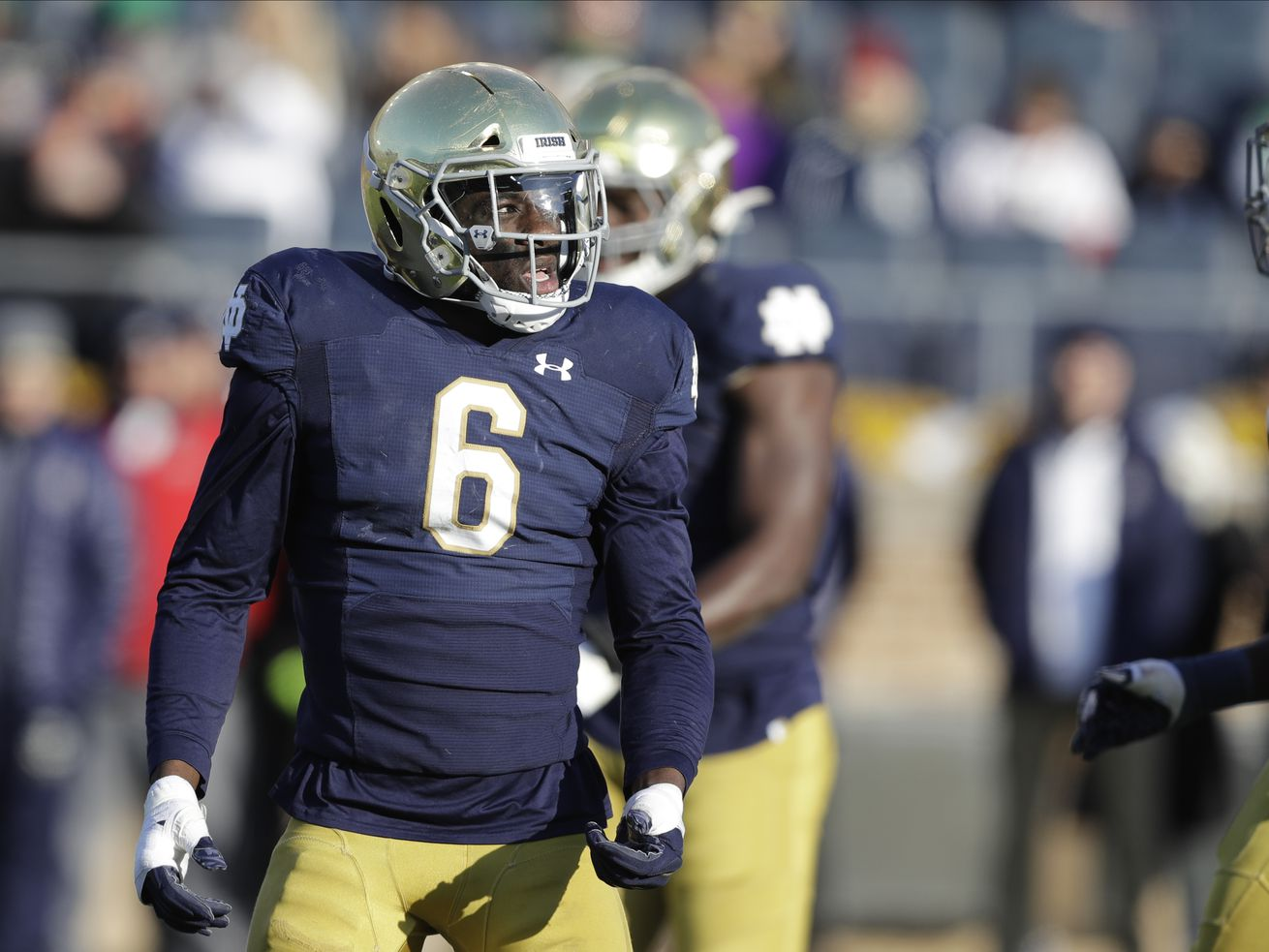 Notre Dame's 'Wu' already starting to wow