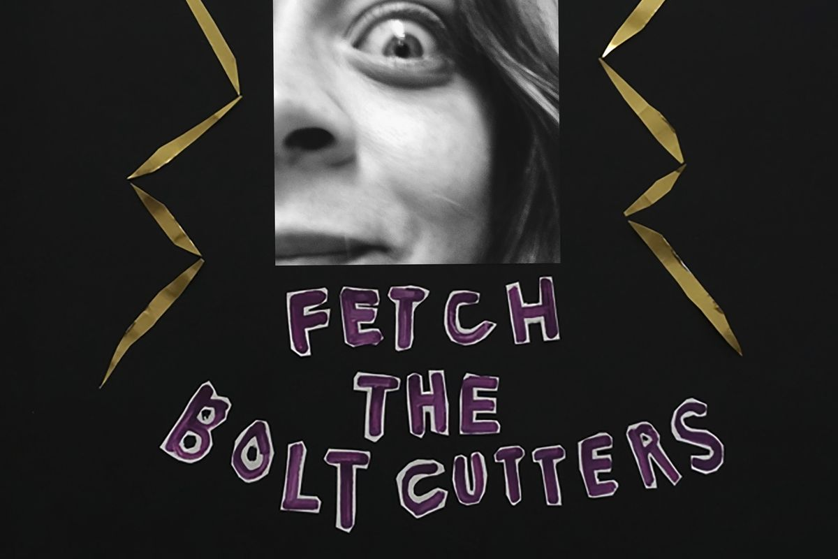 The cover of Fiona Apple's Fetch the Bolt Cutters
