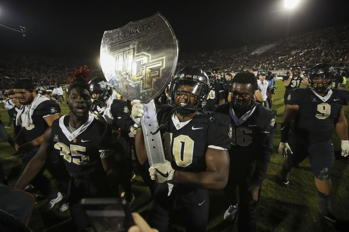 UCF beats USF in college football's best game of 2017 so far ...