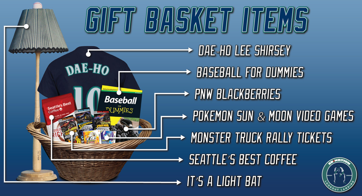 The only question, of course, is what exactly we'd put into these baskets. Well, after hours and hours and hours of brainstorming, our baskets are ready: