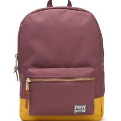 """<b>Herschel Supply Company for Madewell</b> backpack, <a href=""""http://www.madewell.com/madewell_category/BAGS/PRDOVR~88781/88781.jsp"""">$55</a>"""