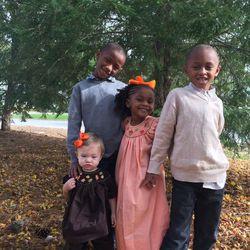 Siblings Annabelle, Elijah, Gabbi and Kentrell Oden.
