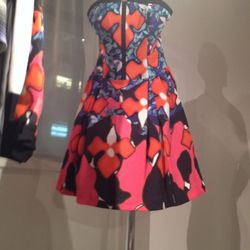 Another shot of that coveted dress, which will also be on Net-a-Porter.