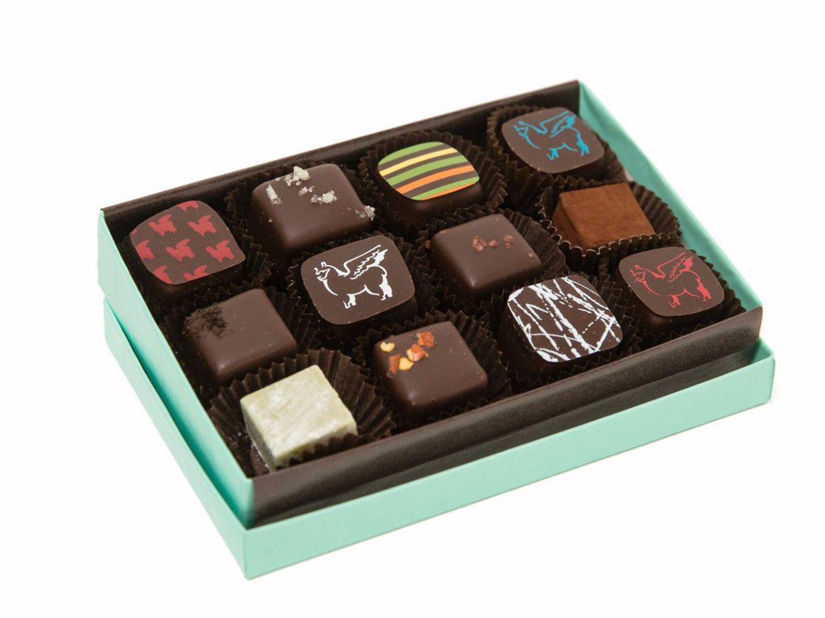 Chocolate box from Socola