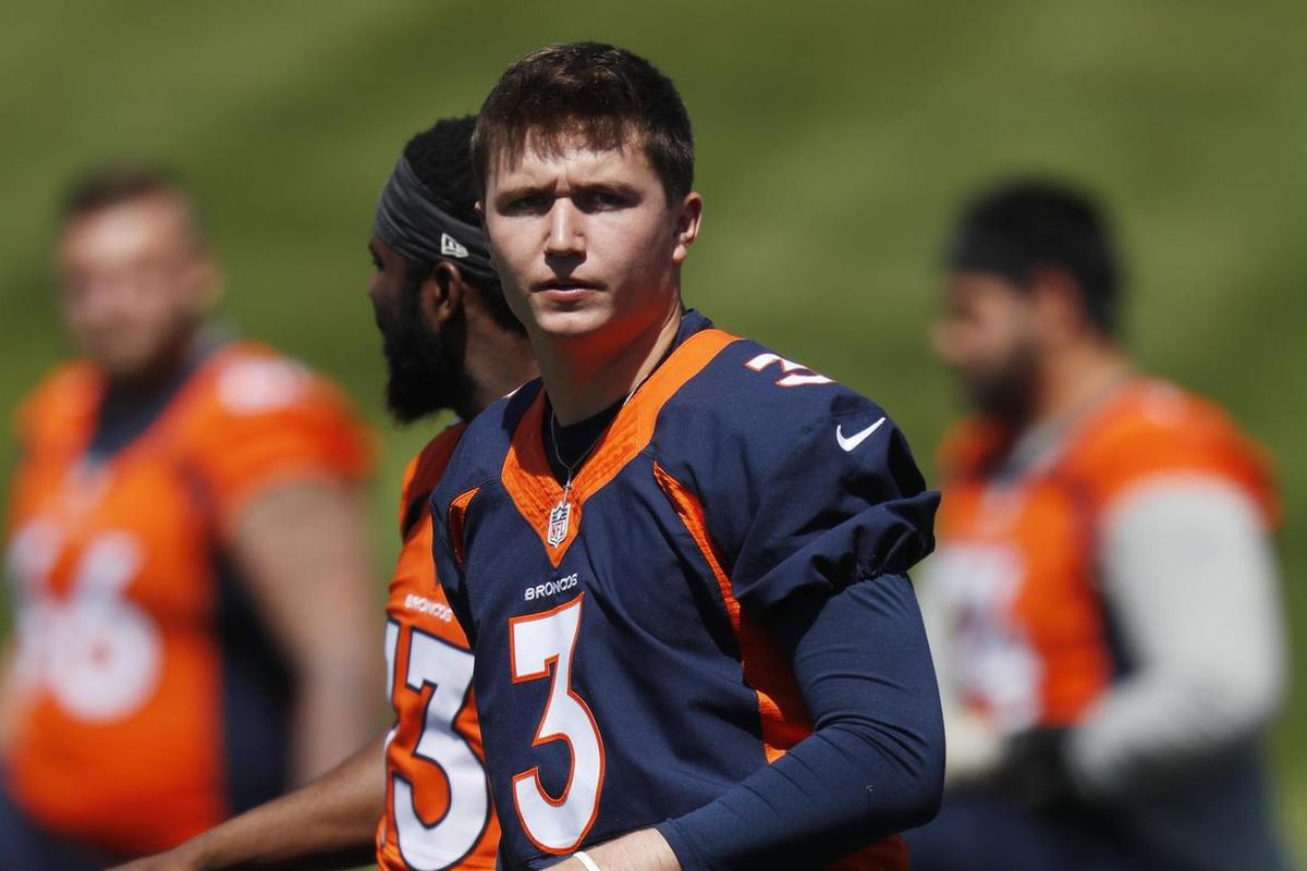 Denver Broncos: Drew Lock practiced well in training camp debut