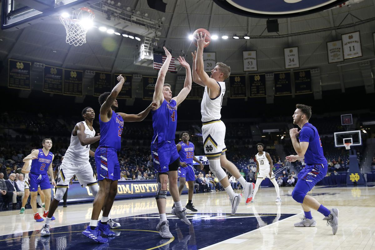 Quick Recap: Notre Dame edges the Presbyterian Blue Hose 63-53