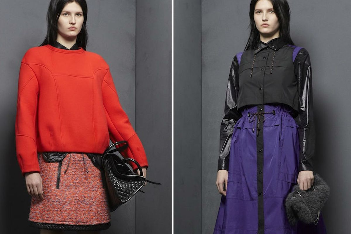 """Proenza Schouler's pre-fall 2012 <a href=""""http://www.proenzaschouler.com/collections/fall-winter-2012/pre_collection/"""">collection</a>"""