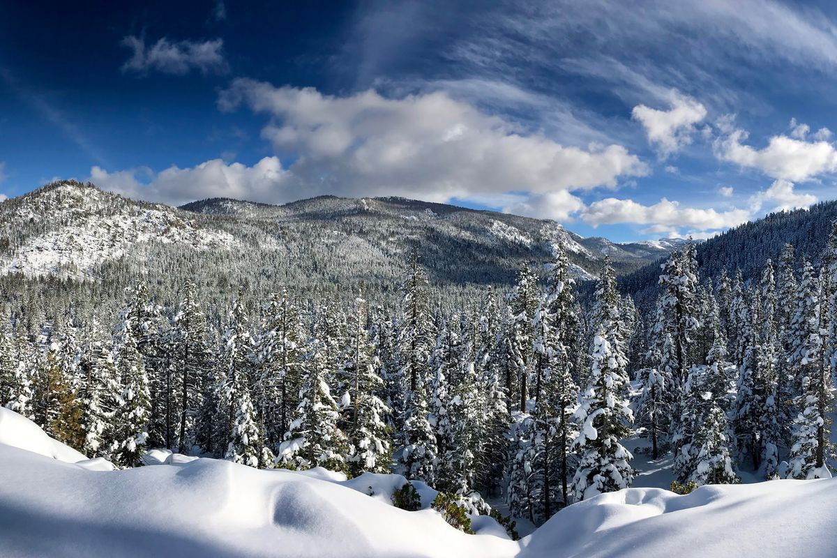 Christmas In Lake Tahoe.Weather Lake Tahoe It S Snowing Here S What You Re Missing