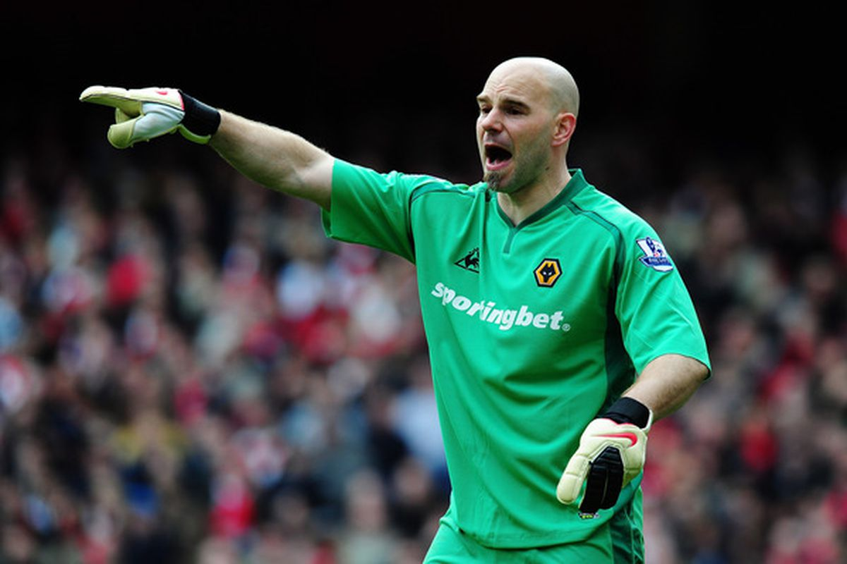 LONDON, ENGLAND - APRIL 03:  Current Wolverhampton Wanderers F.C./Future Sounders F.C. keeper Marcus Hahnemann.  (Photo by Mike Hewitt/Getty Images)