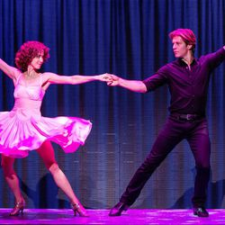 """Bronwyn Reed (Baby) and Christopher Tierney (Johnny) in the North American tour of """"Dirty Dancing,"""" which will be at the Eccles Theater through June 25."""