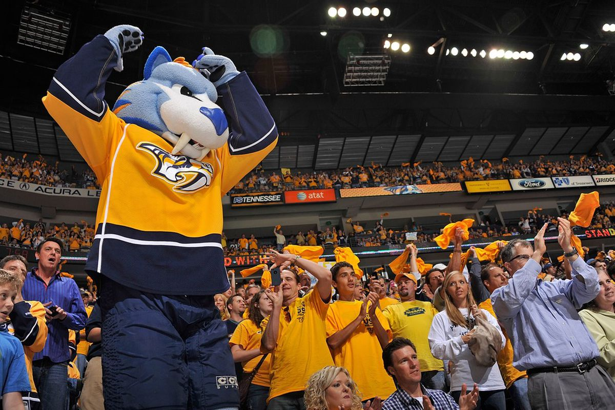 Nashville predators celebrity fans of game