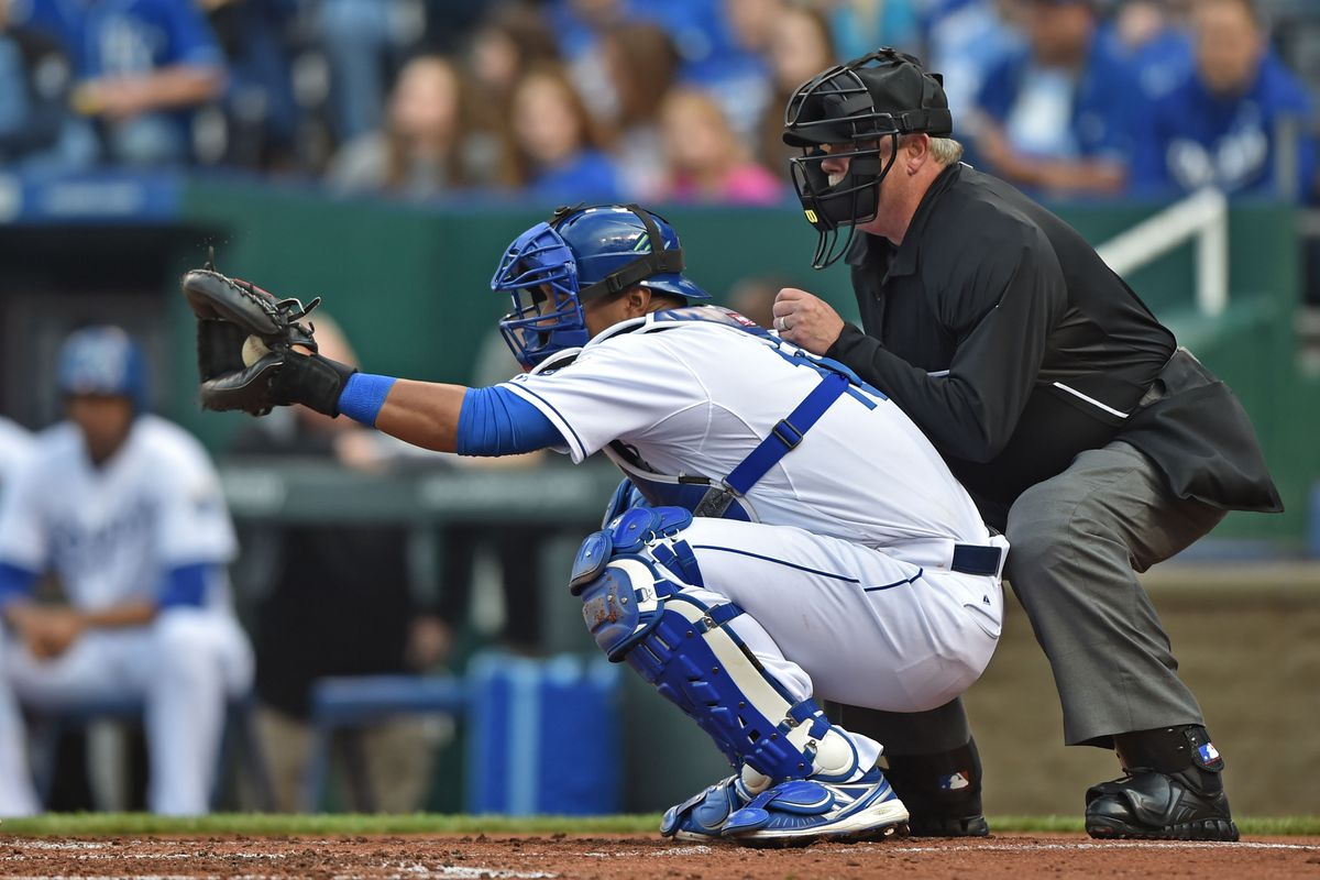 Sal Perez could improve his pitch framing - Royals Review