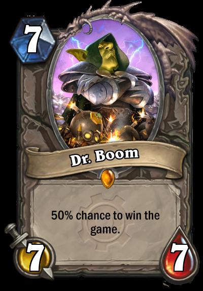 fake dr. boom hearthstone