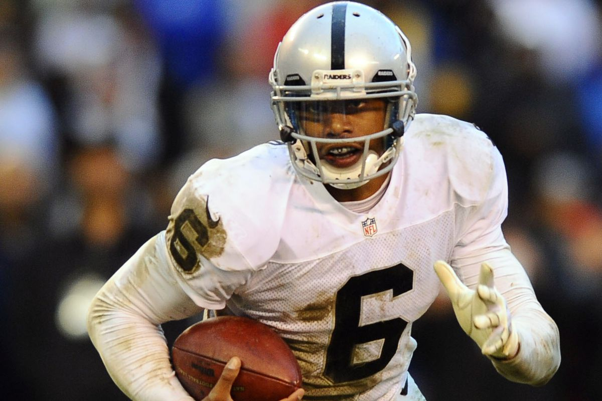 The first of many starts in Oakland for Terrelle Pryor?