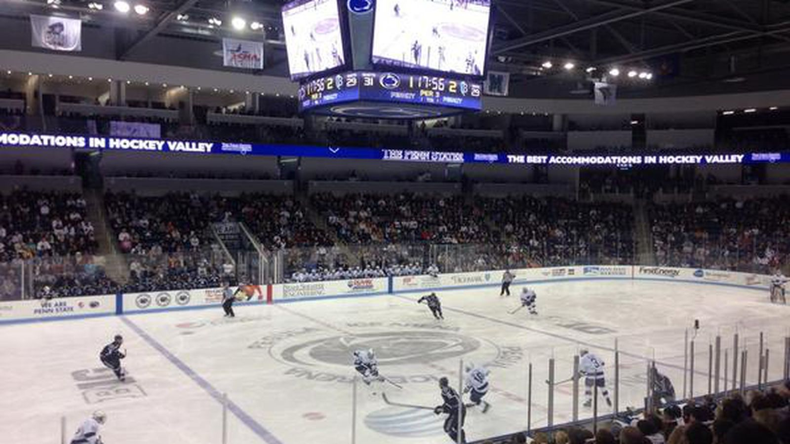 Penn State Hockey Completes Sweep Of Bentley Black Shoe
