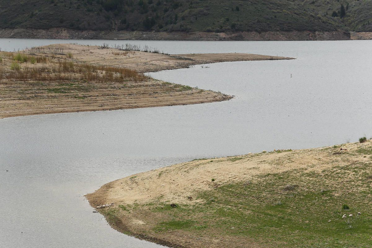 FILE: Water levels remain low at Jordanelle State Park Tuesday, May 5, 2015. Projections of Utah's water needs have been made for the Legislative Audit Committee.