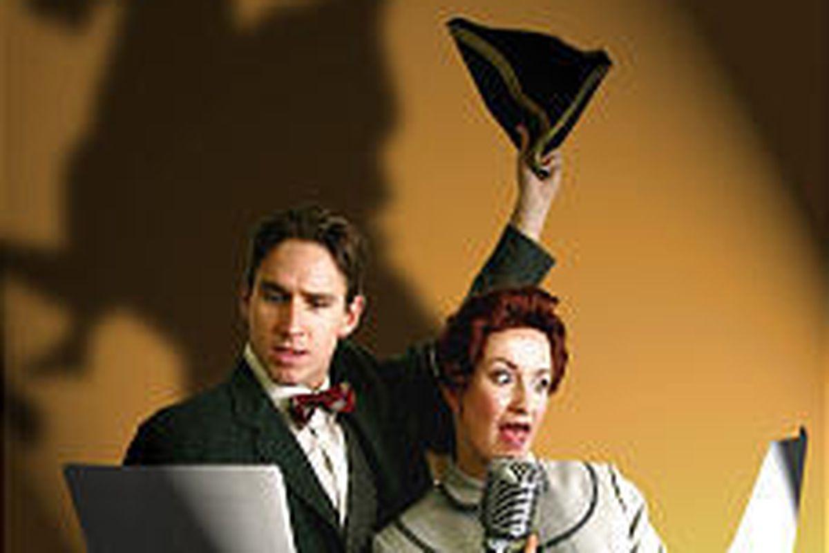 "Schuyler Scott Mastain and Lori Reese star in Egyptian Theatre Company's ""Sleepy Hollow."""