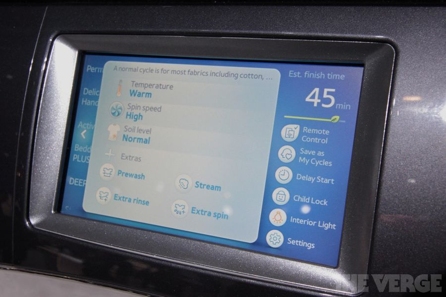 Samsung S Wf457 Wi Fi Washer And Dryer Hands On Photos